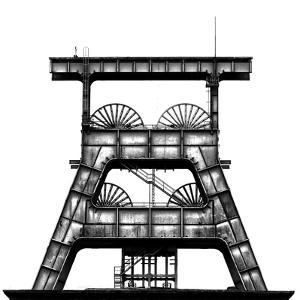 Zeche Ewald by Hans-Wolfgang Hawerkamp