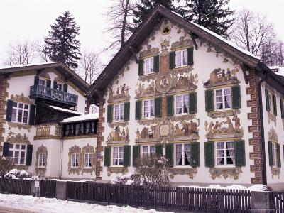 Hansel and Gretel House, Oberammergau, Bavaria, Germany-Sergio Pitamitz-Photographic Print