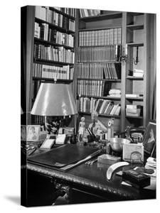 A View of the Surface of Thomas Mann's Working Desk, in His Princeton Home by Hansel Mieth