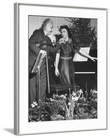 Albert Einstein's Violin Recital