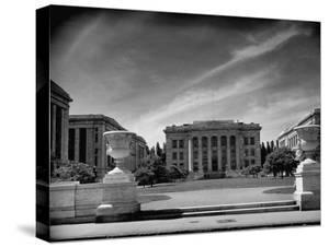 Exterior of the Harvard Medical School by Hansel Mieth