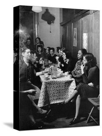 Garment Worker Yetta (Circled), Union Ilgwu, New York, NY, 1938