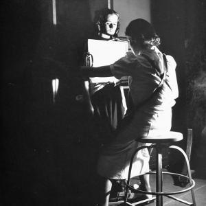 Girl Getting an X-Ray at the Irvington Home for Rheumatic Fever by Hansel Mieth