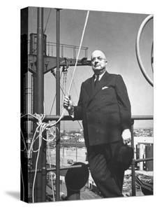 Ship Builder Henry J. Kaiser by Hansel Mieth