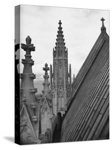 View Showing the Architectural Structure of the Episcopal Cathedral by Hansel Mieth