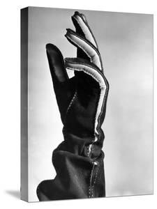 View Showing the New Type of Leather Glove by Hansel Mieth