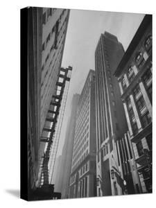 Wall Street of the West, Great Office Buildings, Banks, Brokerages and Export-Import Firms by Hansel Mieth