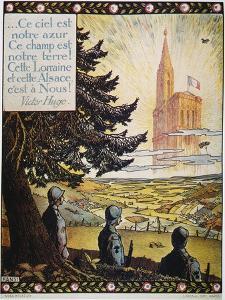 French World War I Poster by Hansi