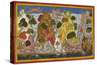 Hanuman Fetches the Magic Herbs