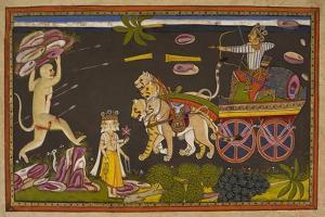 Hanuman Fighting