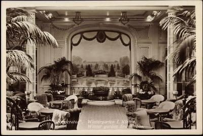 Hapag, Dampfer Imperator, Wintergarten I. Kl--Giclee Print