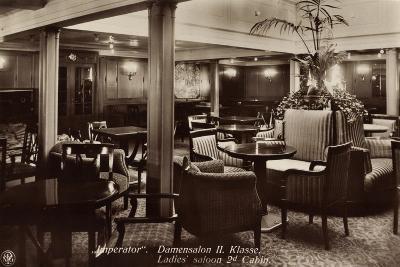 Hapag, Dampfschiff Imperator, Damensalon Der II--Giclee Print