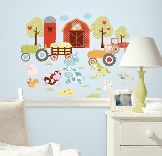 Happi Barnyard Peel & Stick Wall Decals--Wall Decal