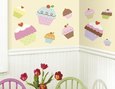 Happi Cupcake Peel & Stick Giant Wall Decal