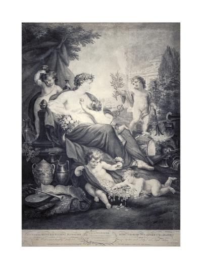 Happiness, 1799-Thomas Burke-Giclee Print