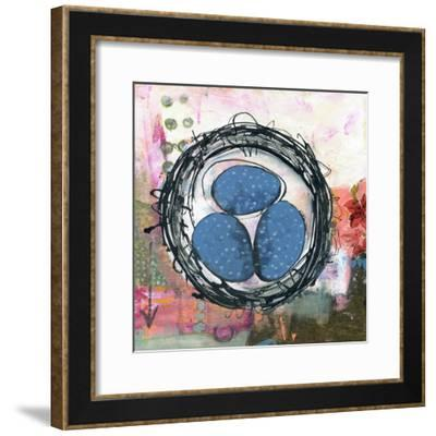 Happiness is a Warm Nest--Framed Art Print