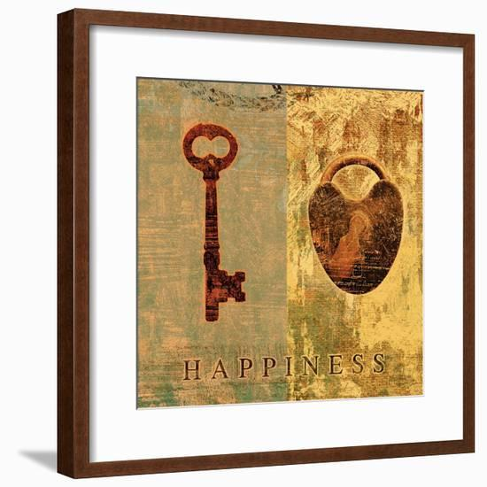 Happiness-Eric Yang-Framed Art Print