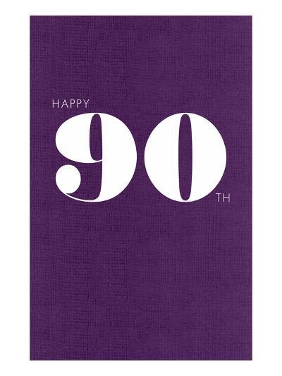 Happy 90th--Art Print