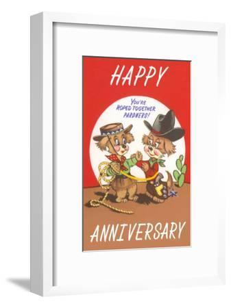 Happy Anniversary, Cartoon Cowboys