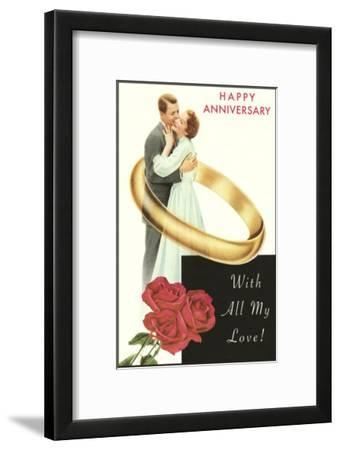 Happy Anniversary, Couple in Wedding Band