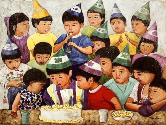 Happy Birthday, 1994-Komi Chen-Giclee Print