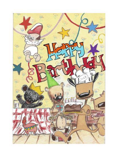 Happy Birthday 2-Miguel Balb?s-Giclee Print
