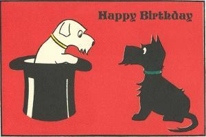 Happy Birthday Westie and Scottie
