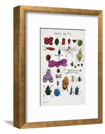 Happy Bug Day, 1954-Andy Warhol-Framed Art Print