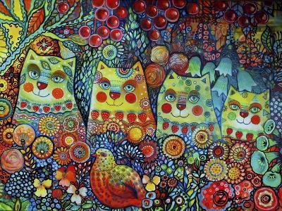 Happy Cats-Oxana Zaika-Giclee Print