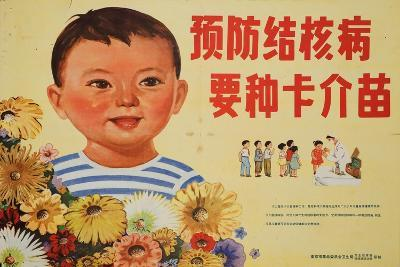 Happy Children Get Vaccinations for Tuberculosis--Art Print