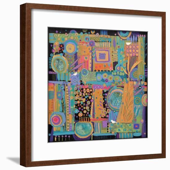 Happy Dance-Sue Davis-Framed Giclee Print