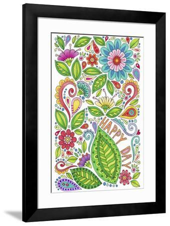 Happy Day - Color-Hello Angel-Framed Giclee Print