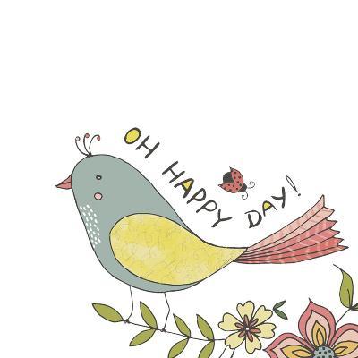 Happy Day-Jyotsna Warikoo-Giclee Print