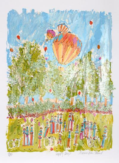 Happy Days-Susan Pear Meisel-Limited Edition