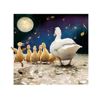 Happy Duckling-Nancy Tillman-Art Print
