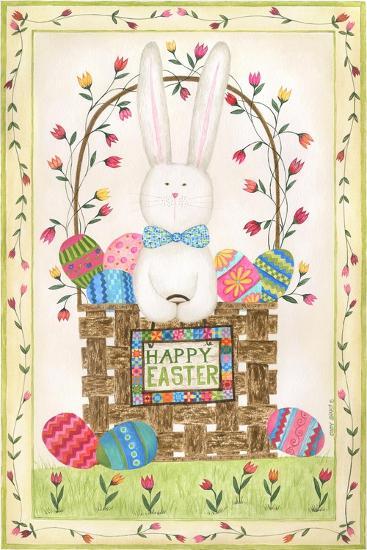 Happy Easter Basket-Cindy Shamp-Art Print