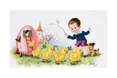 Happy Easter--Giclee Print