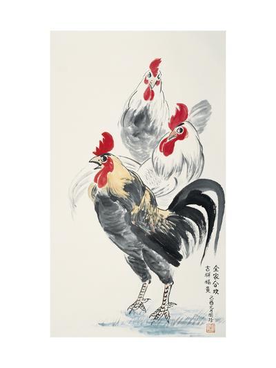 Happy Family-Guozen Wei-Giclee Print