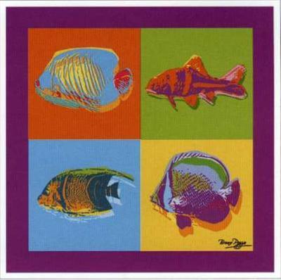 Happy Fishes-Bruno Pozzo-Art Print