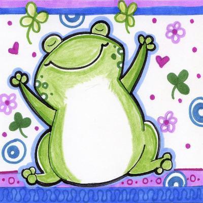 Happy Frog-Valarie Wade-Giclee Print