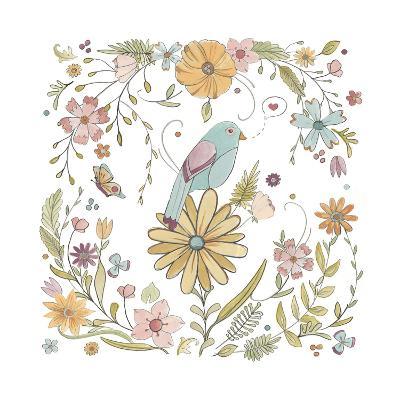 Happy Garden I-June Vess-Art Print