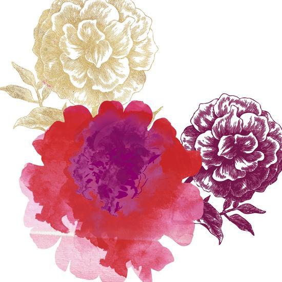 Happy Garden Reds-Bella Dos Santos-Art Print