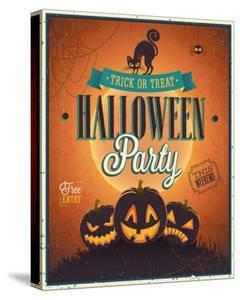 Happy Halloween Party invite