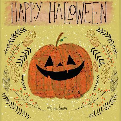 Happy Halloween-Katie Doucette-Art Print