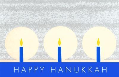 Happy Hanukkah, Candles
