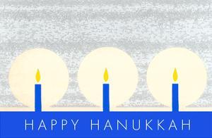Happy Hanukkah, Candles