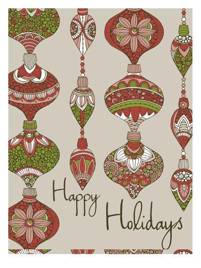Happy Holidays-Valentina Ramos-Art Print