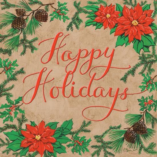 Happy Holidays-Paul Brent-Art Print