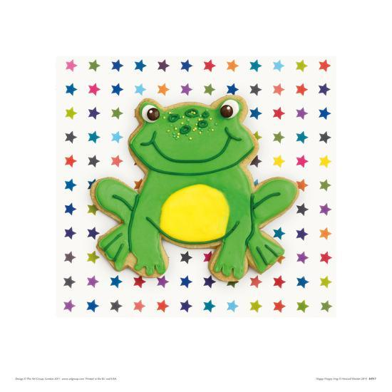 Happy Hoppy Frog-Howard and Lauren Shooter and Floodgate-Giclee Print