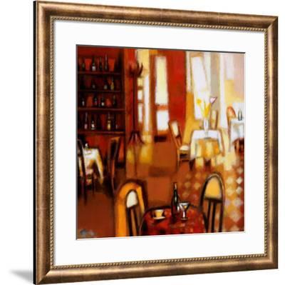 Happy Hour II-Elya de Chino-Framed Art Print